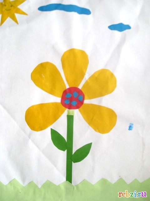 Букет цветов рисунок раскраска